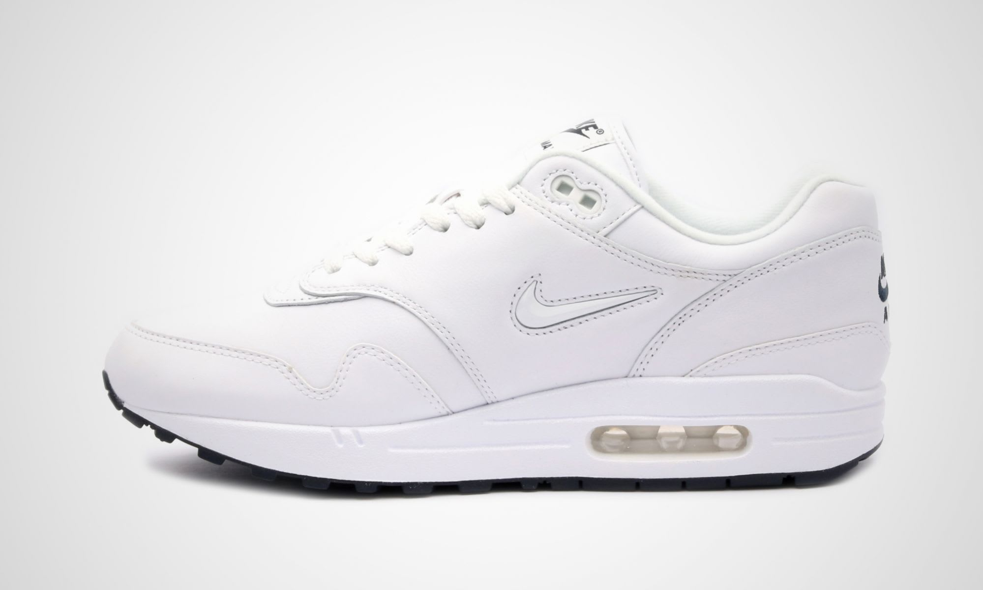 Nike Air Max 1 SC Jewel White Release Date Medial 918354-105