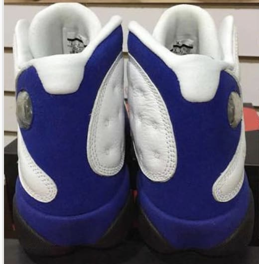 Air Jordan 13 'Hyper Royal' 414571-117 (Heel)