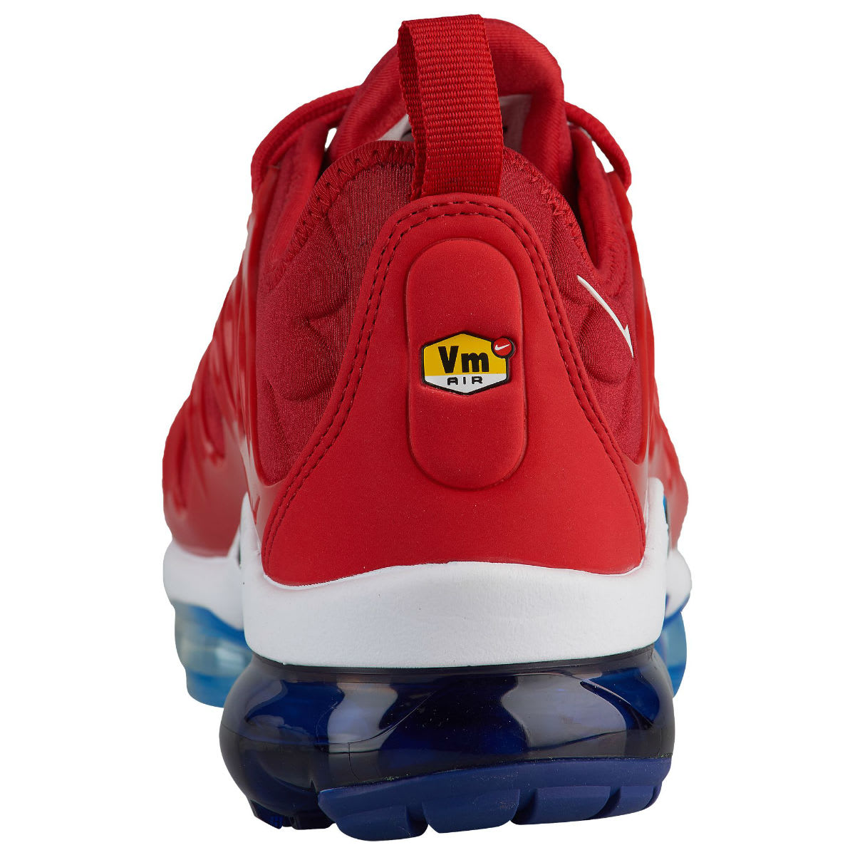 Nike Air VaporMax Plus USA Red White Blue Release Date 924453-601 Heel