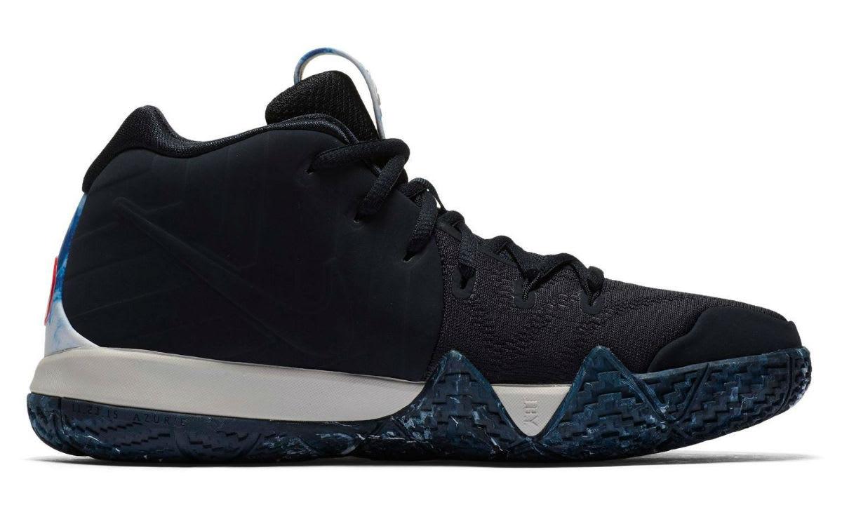 Nike N7 Kyrie 4 GS Release Left Medial