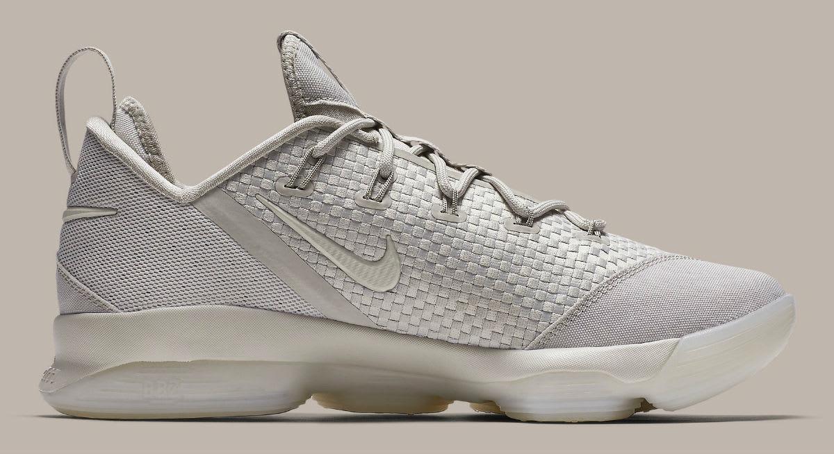 Nike LeBron 14 Low Tan Release Date Medial 878635-004