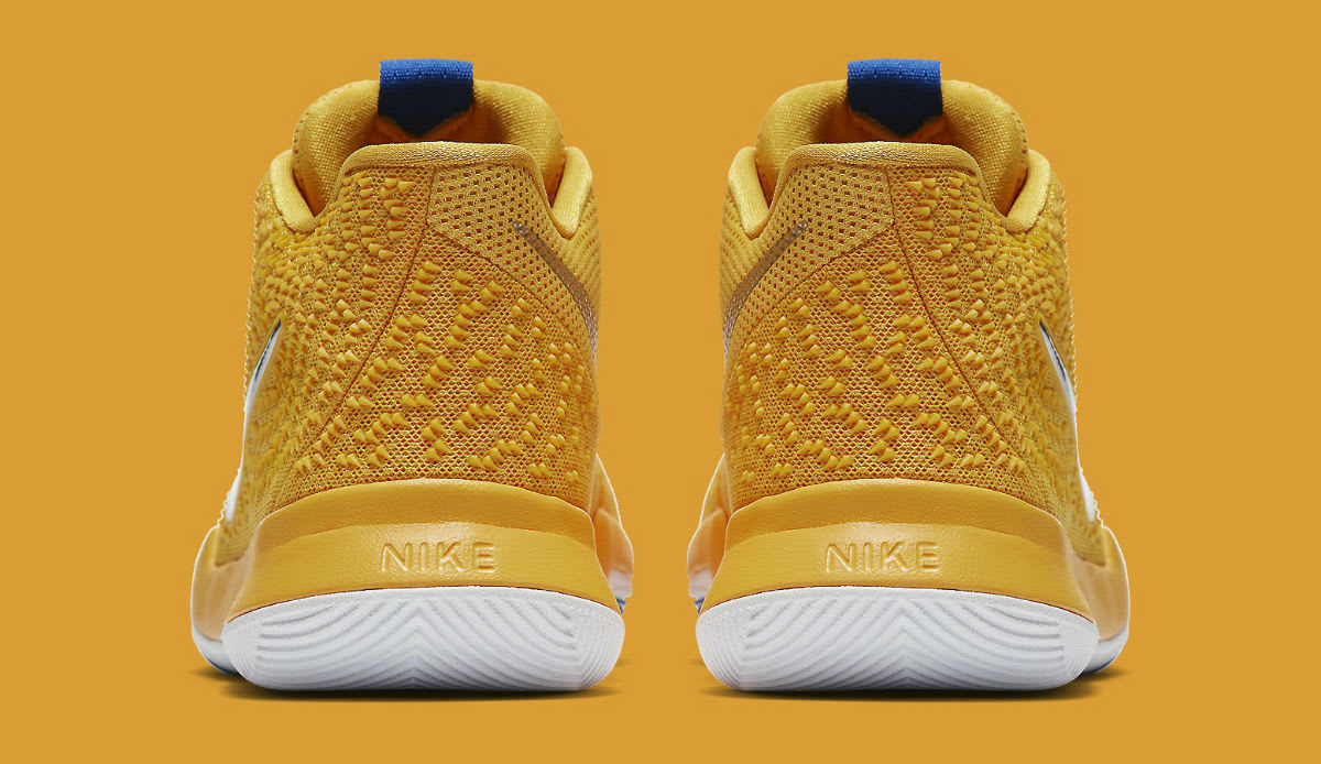 Nike Kyrie 3 Mac and Cheese Release Date Heel 859466-791