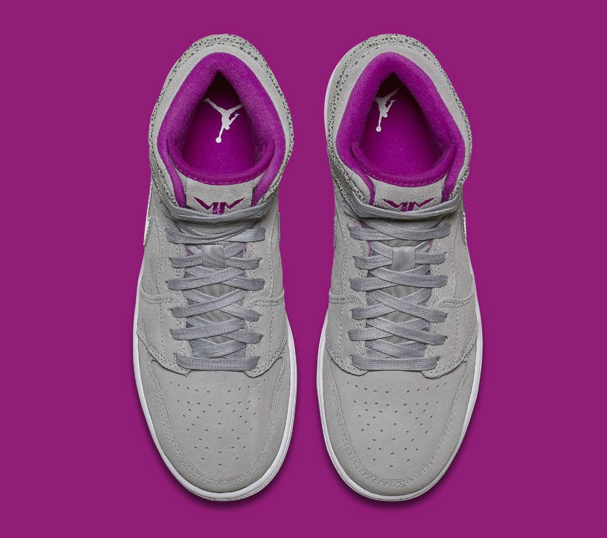 Air Jordan 1 Maya Moore Grey Silver Fuchsia Release Date Top 332148-012