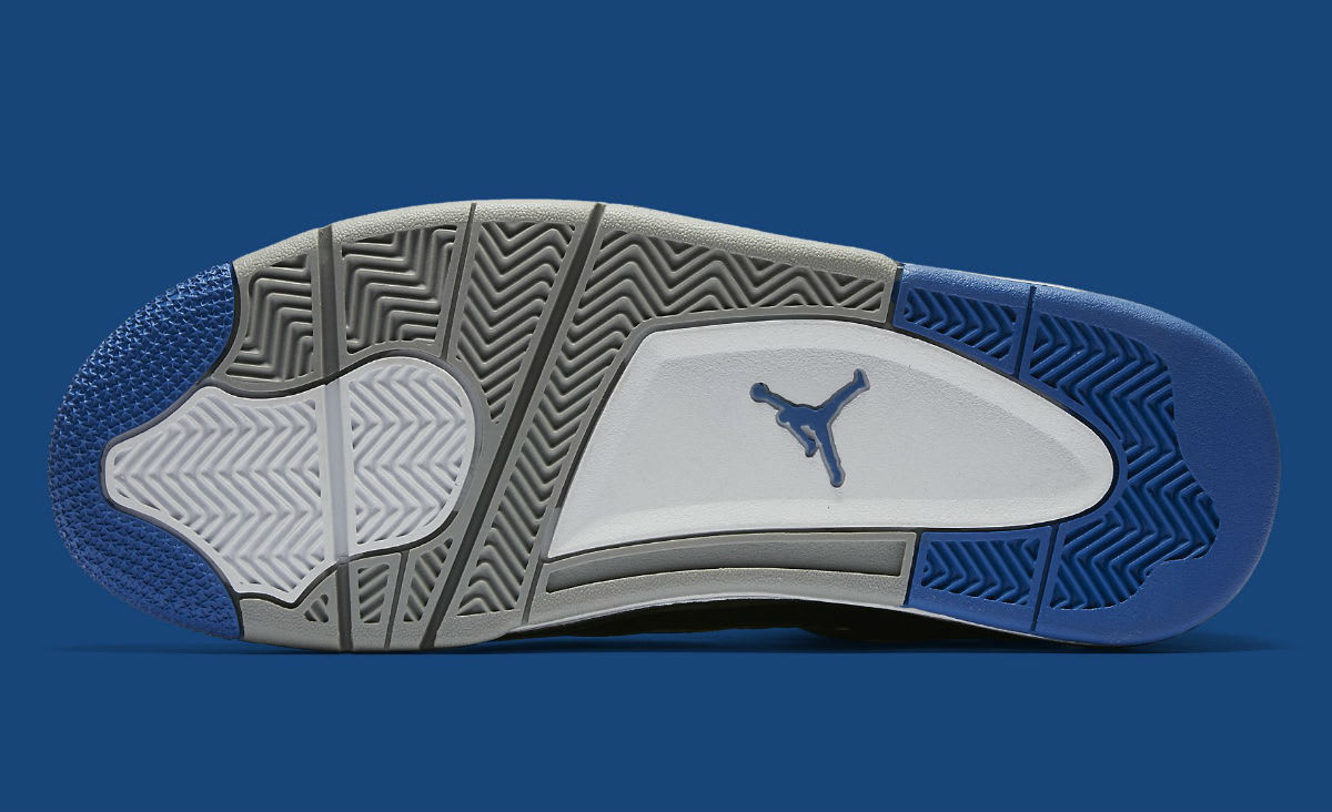 Air Jordan 4 Game Royal Release Date Sole 308497-006
