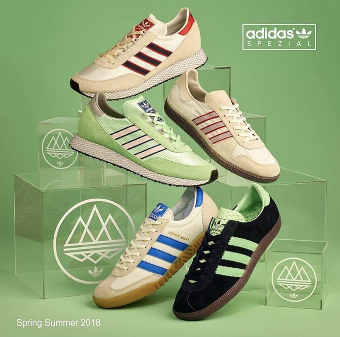 Adidas Spezial Spring/Summer 2018 First Drop