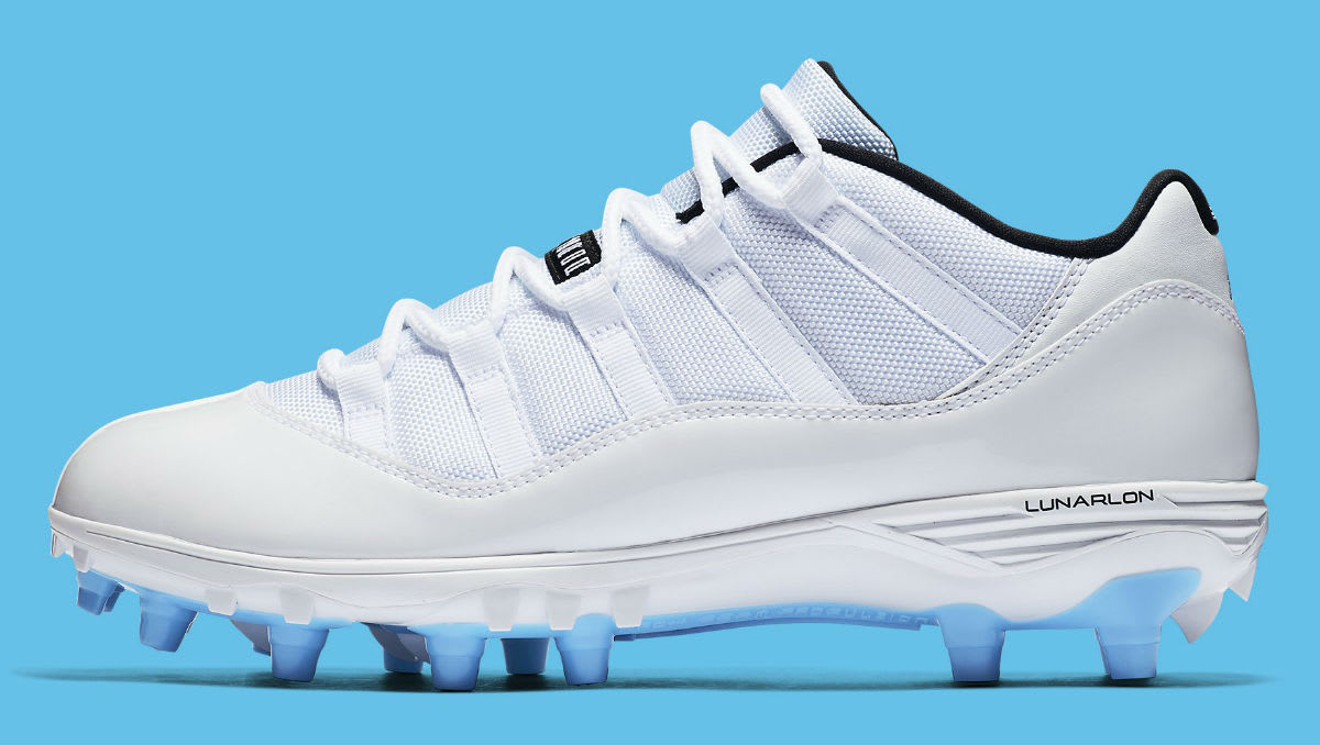 Air Jordan 11 XI Low Cleats Columbia Release Date AO1560-117 Profile