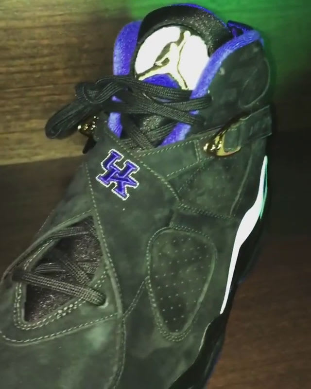 Air Jordan 8 Kentucky Wildcats PE