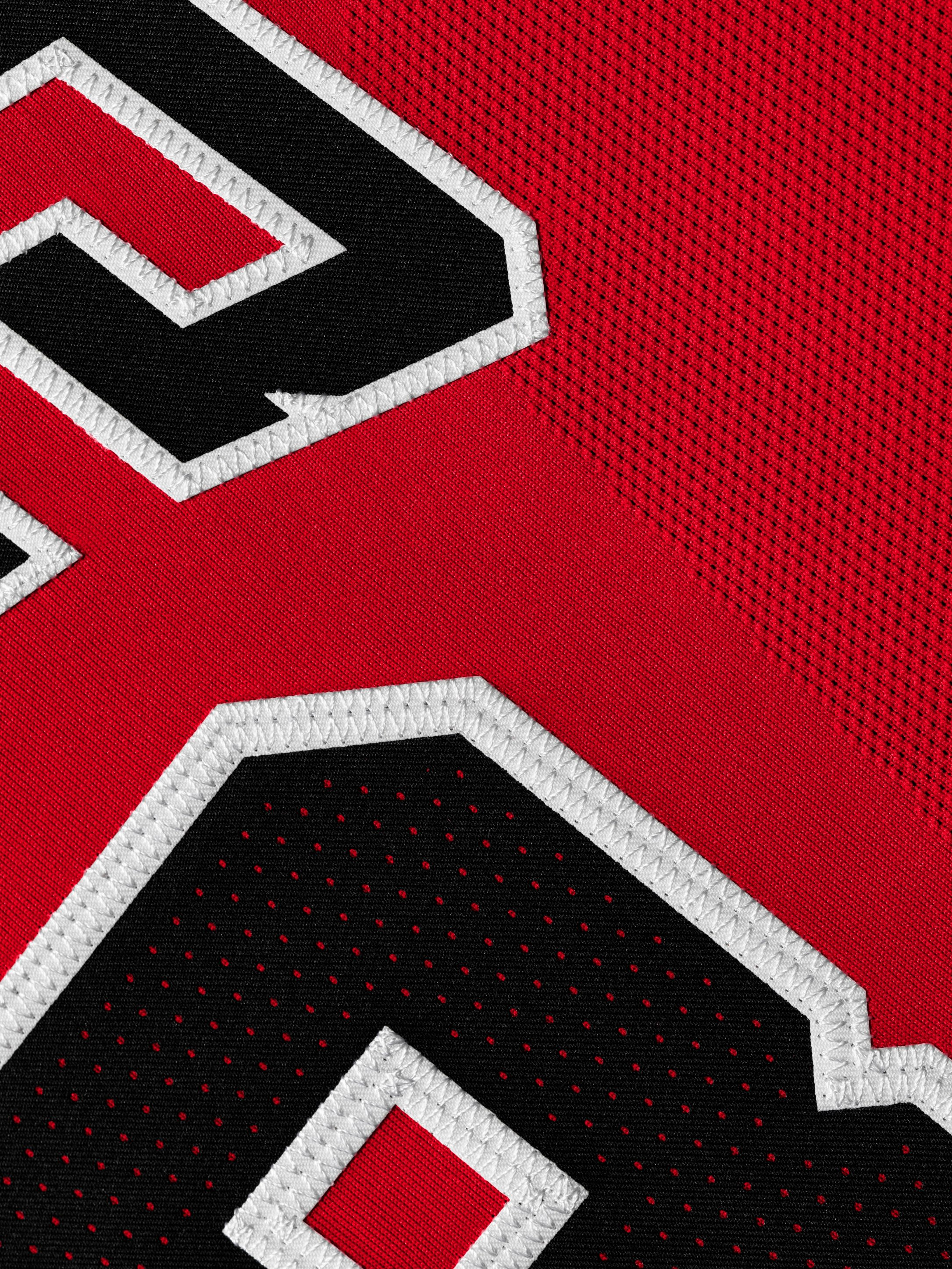 Michael Jordan Chicago Bulls Last Shot Jersey (Authentic Detail)