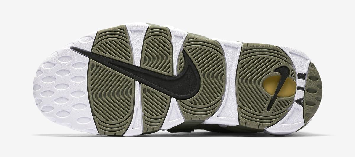 Nike Air More Uptempo Womens Dark Stucco 917593-001 Sole
