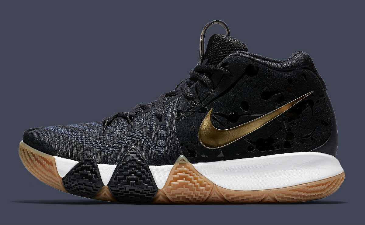 Nike Kyrie 4 Pitch Blue Gold Release Date 943807-403 Profile