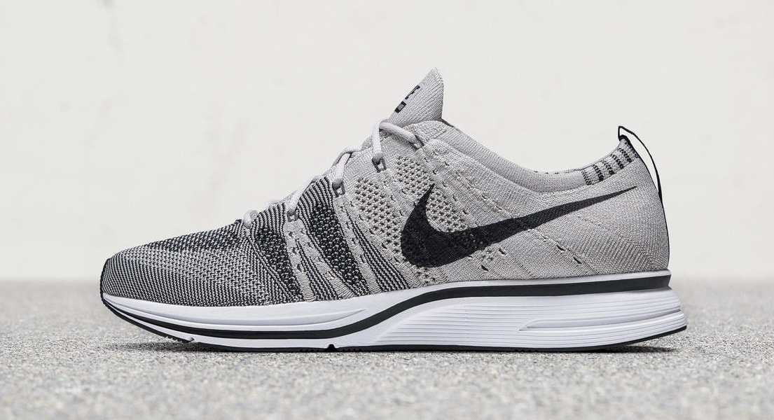 Pale Grey Nike Flyknit Trainer