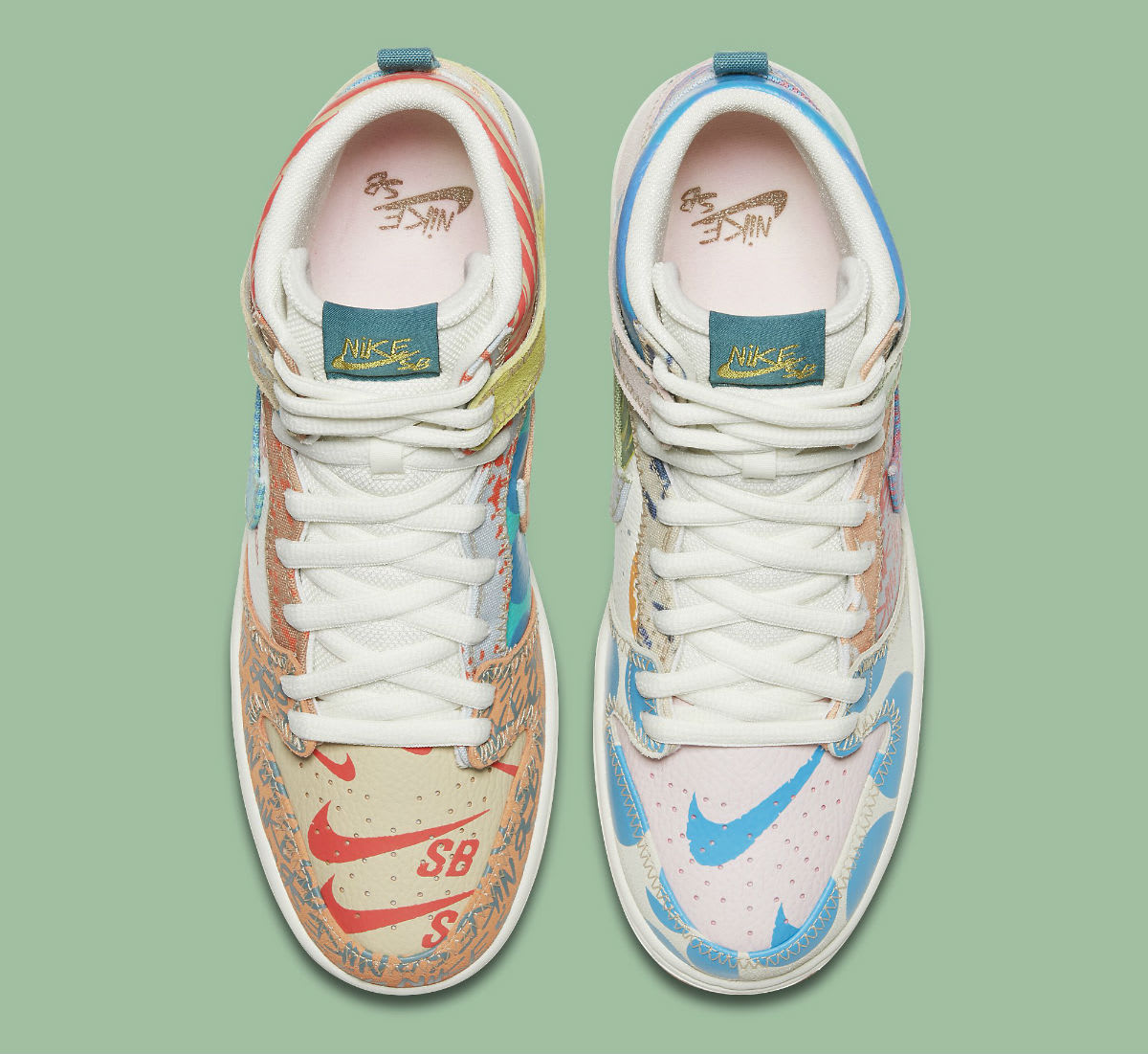 Thomas Campbell Nike SB Dunk High Chronicles Release Date Top 918321-381