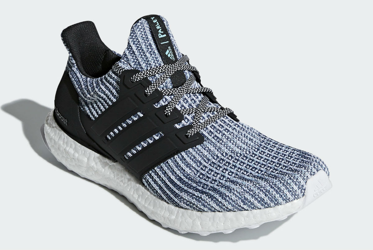 d70635a99fef0 Image via Adidas Parley x Adidas Ultra Boost Spirit Blue Release Date  BC0248 Release Date Front