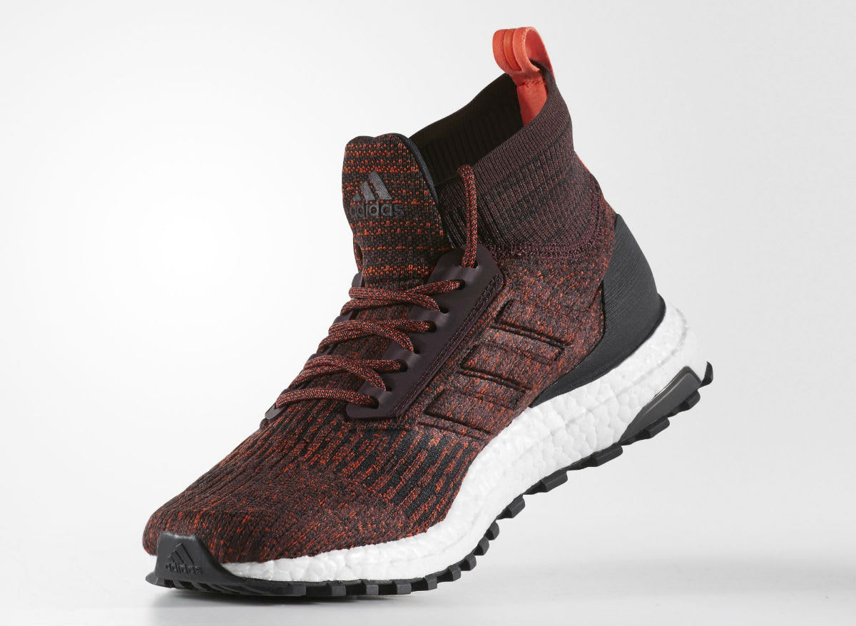 Adidas Ultra Boost ATR Mid Burgundy Energy Black Release Date Medial S82035
