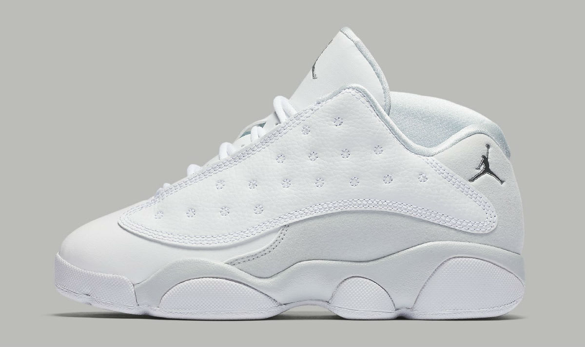 Air Jordan 13 Low Pure Platinum Preschool 310812-100