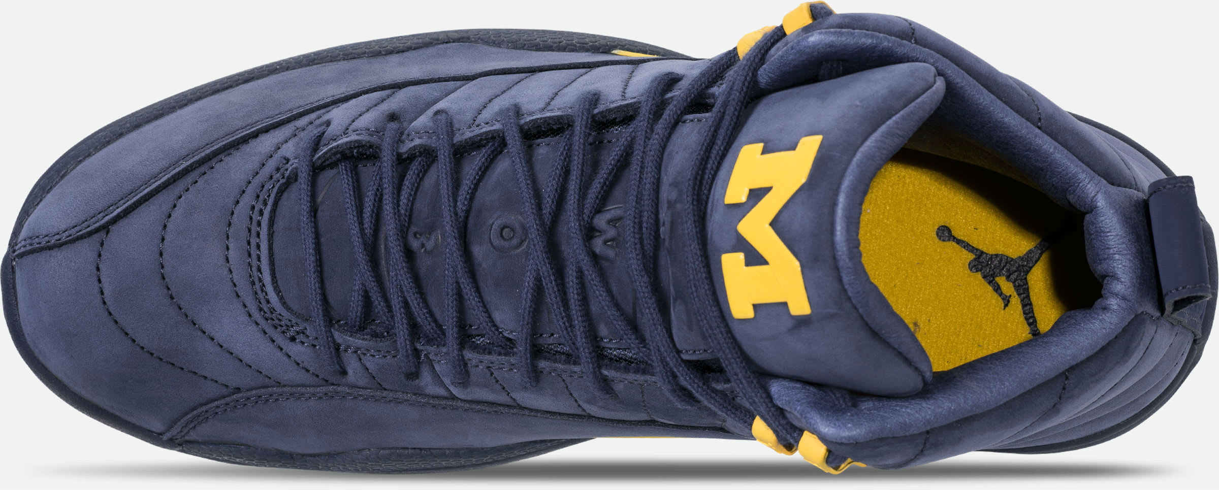 Air Jordan 12 XII Michigan Release Date BQ3180-407 Top