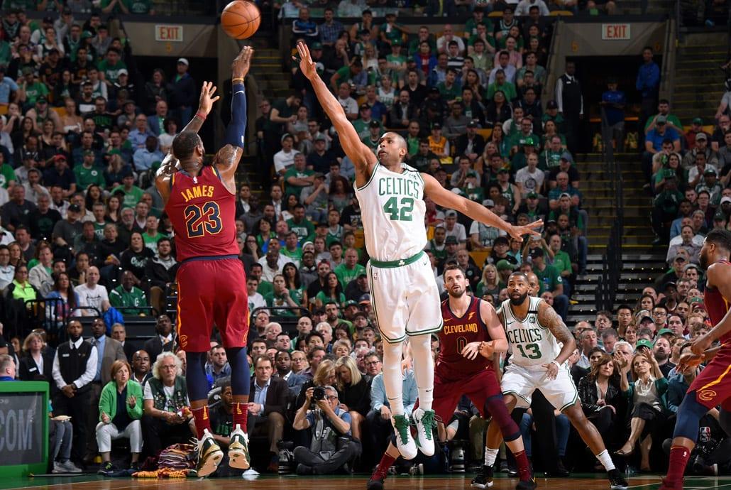 LeBron James 2018 NBA Conference Finals Game 2