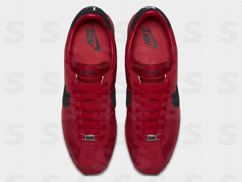 Kendrick Lamar Nike Cortez Damn Top