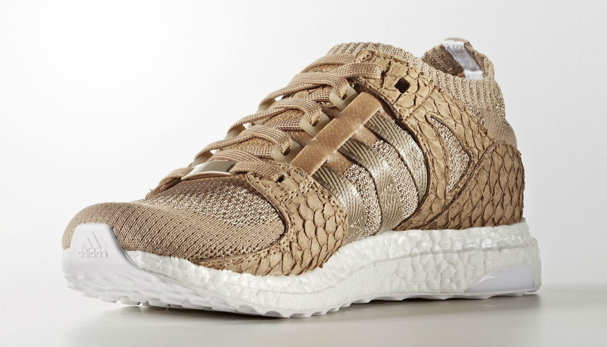 Pusha T x Adidas EQT Support Ultra Primeknit Brown Paper Bag Release Date DB0181 Medial