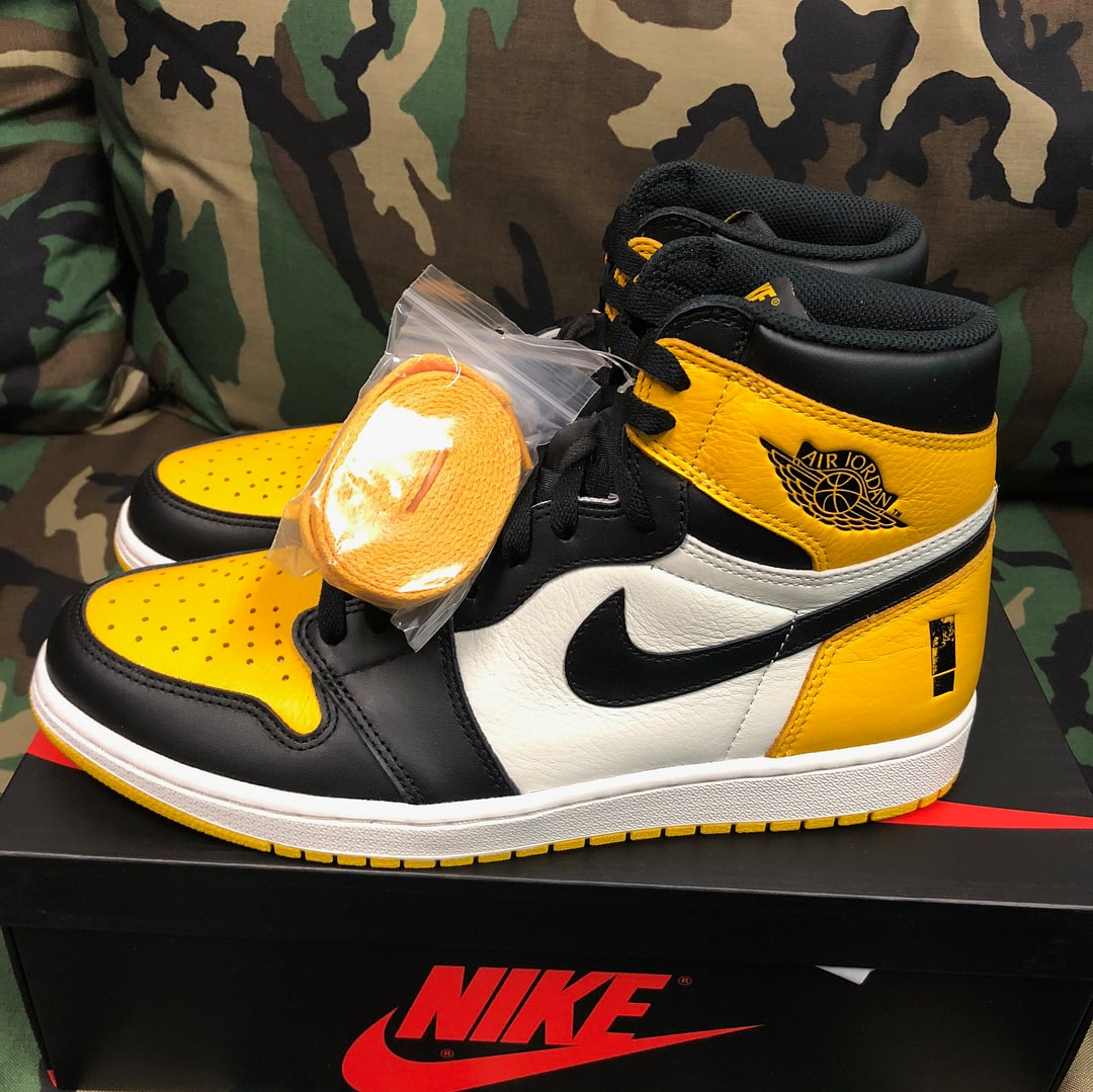 Shinedown Air Jordan 1 Left Profile