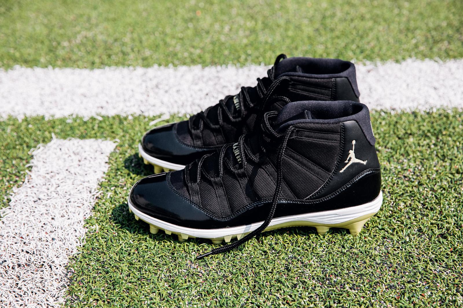 Air Jordan 11 Cleats Michael Thomas PE