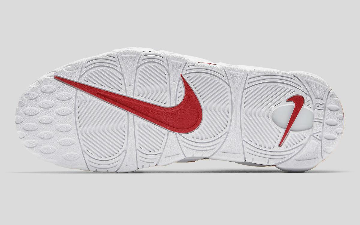 Nike Air More Uptempo Pinstripe 97 Release Date AV7947-001 Sole
