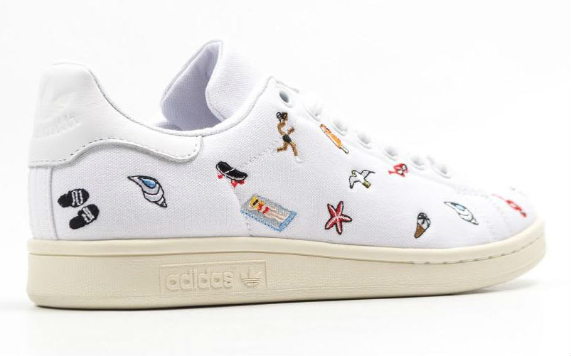 Adidas Stan Smith Summer Canvas Release Date Lateral BZ0392