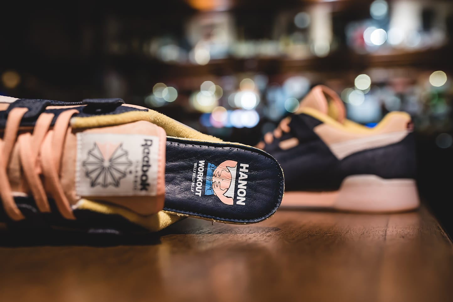 Hanon x Reebok Workout Lo Plus 'Belly's Gonna Get Ya' BS7771 (Insole)