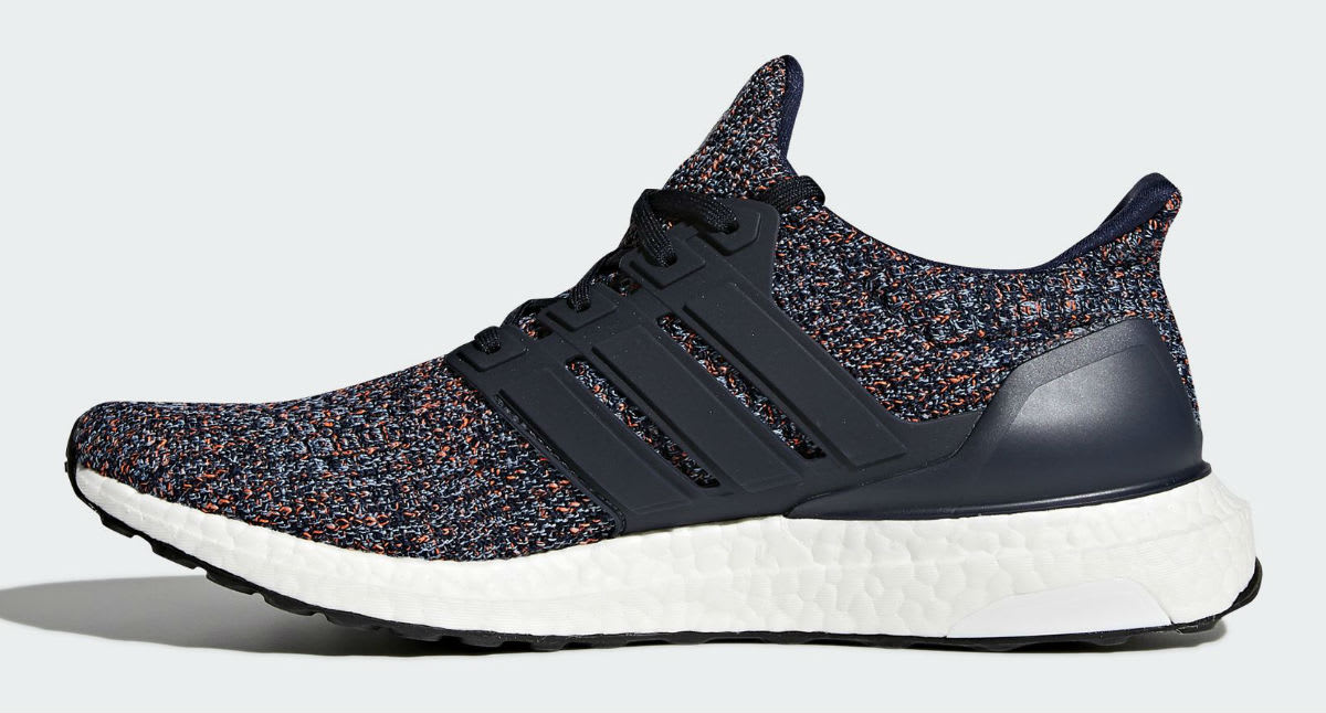 Adidas Ultra Boost Navy Multicolor BB6165 Release Date Medial