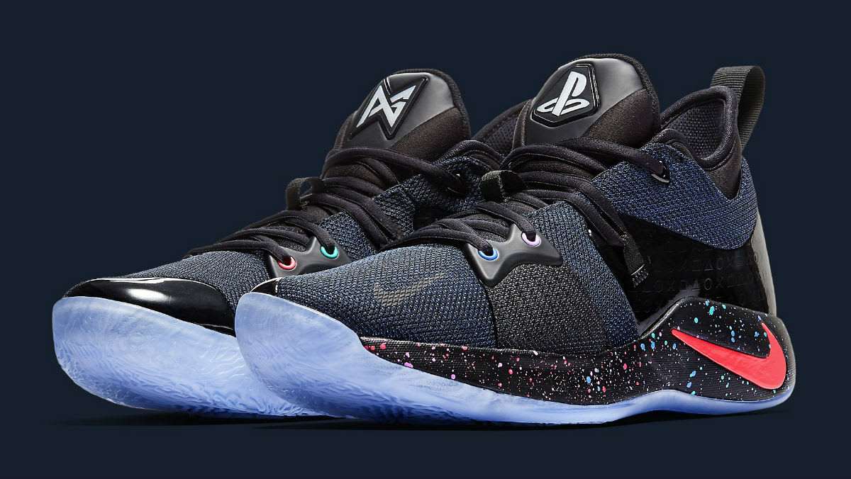 Playstation x Nike PG2 Release Date AT7815-002 | Sole ...
