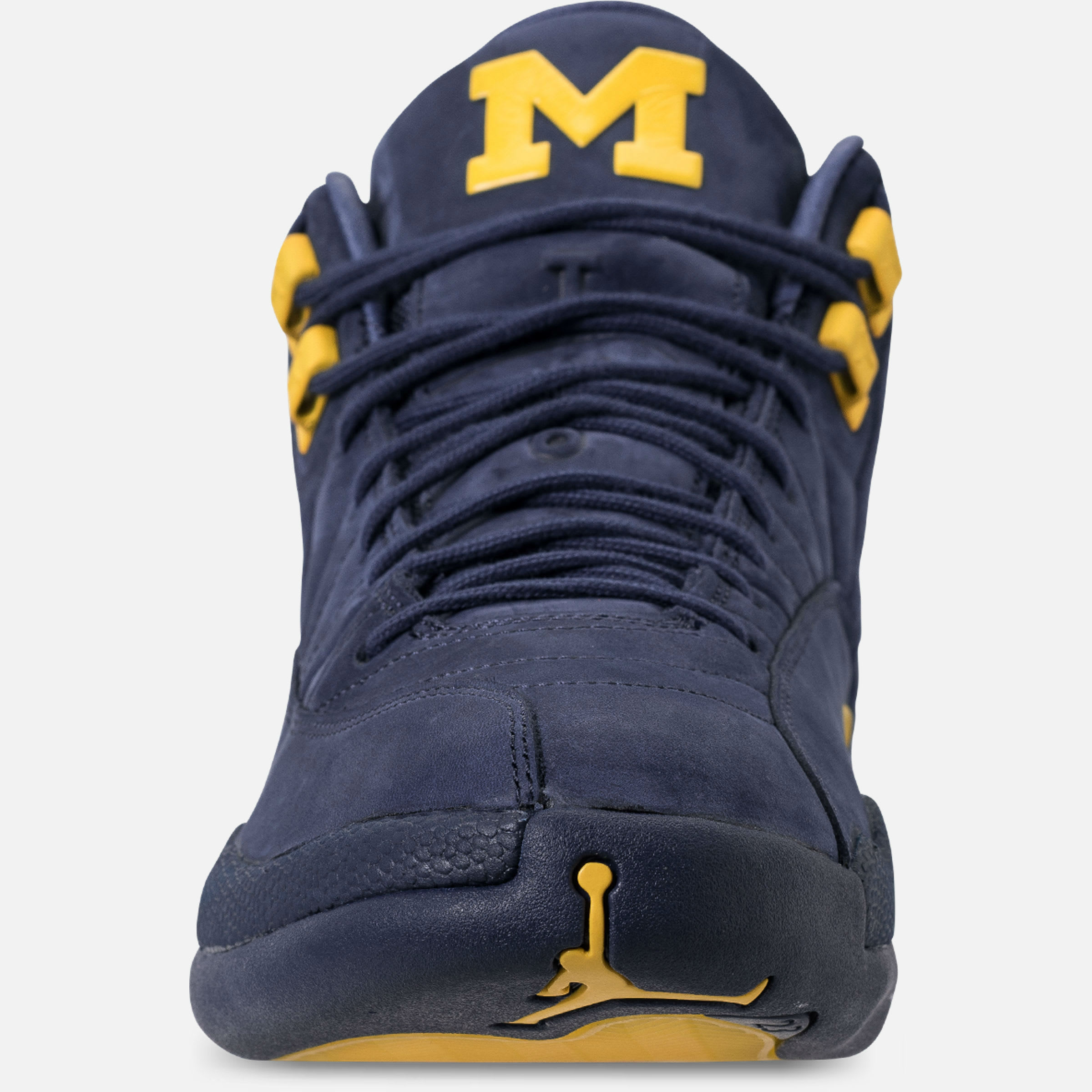 Air Jordan 12 XII Michigan Release Date BQ3180-407 Front