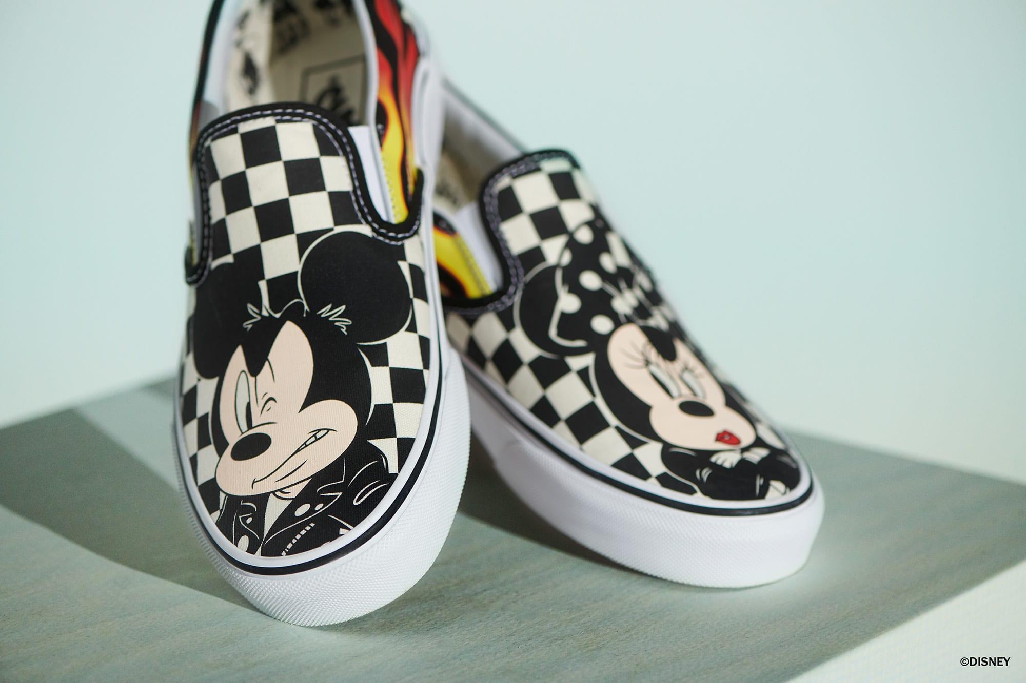Mickey Mouse x Vans Slip-On