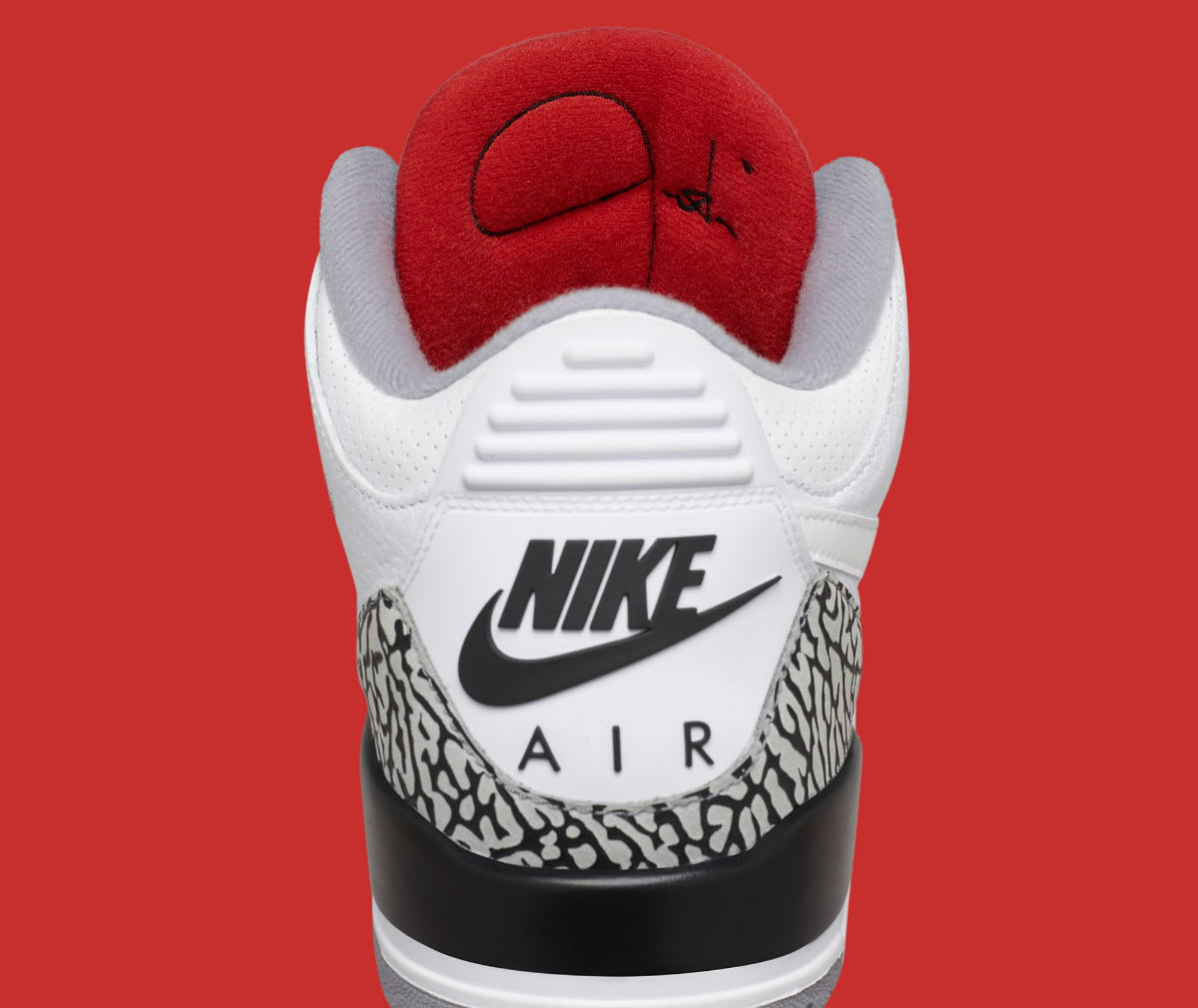 Air Jordan 3 III JTH Timberlake Hatfield Super Bowl Release Date AV6683-160 Tongue