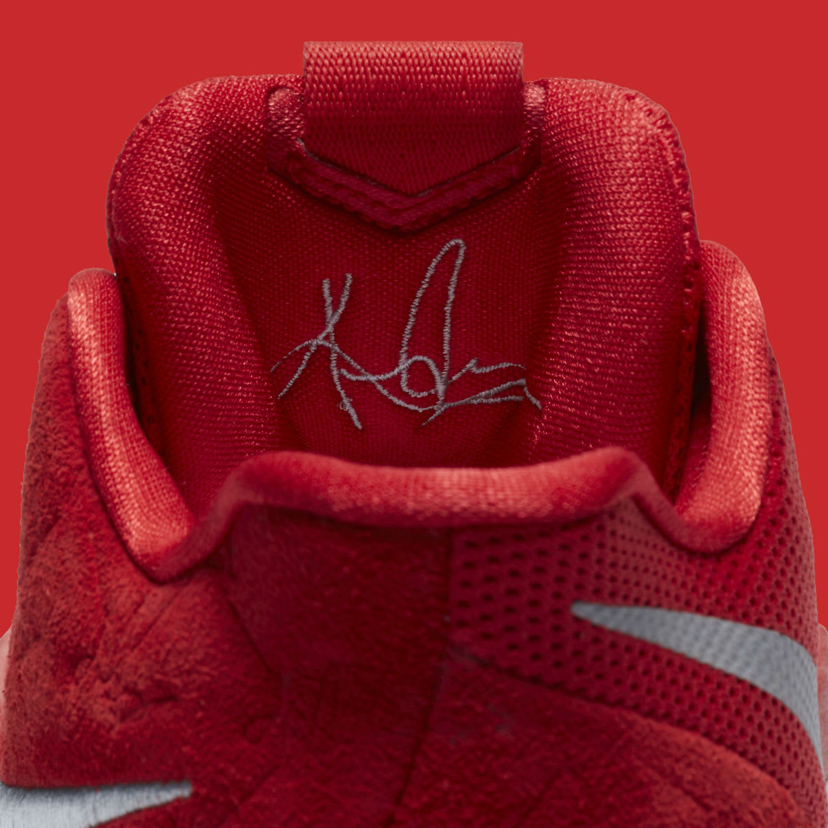 Nike Kyrie 3 University Red Release Date Tongue 852395-601