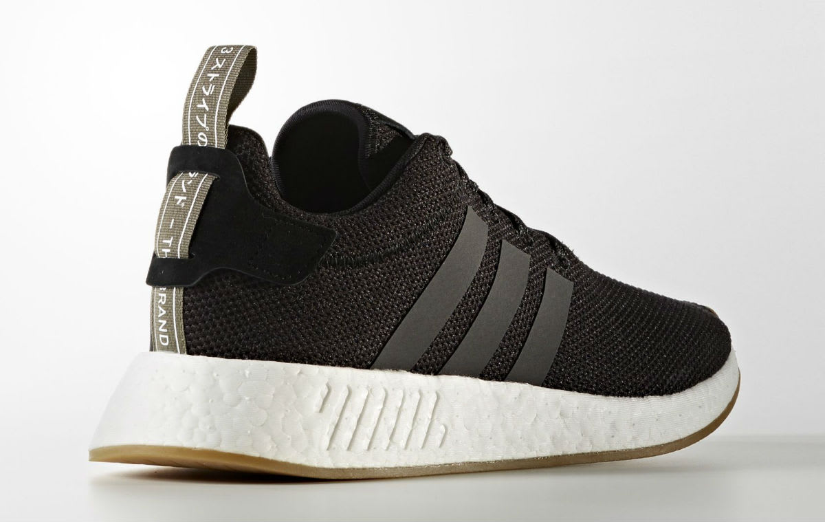 Adidas NMD_R2 Black Gum Release Date Lateral BY9917