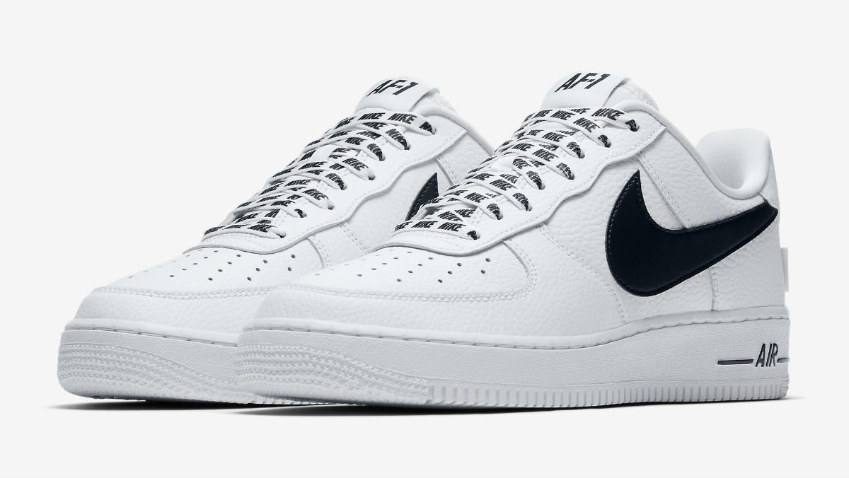 Nike Air Force 1 Low NBA Statement Game White/Black Release Date 823511-103