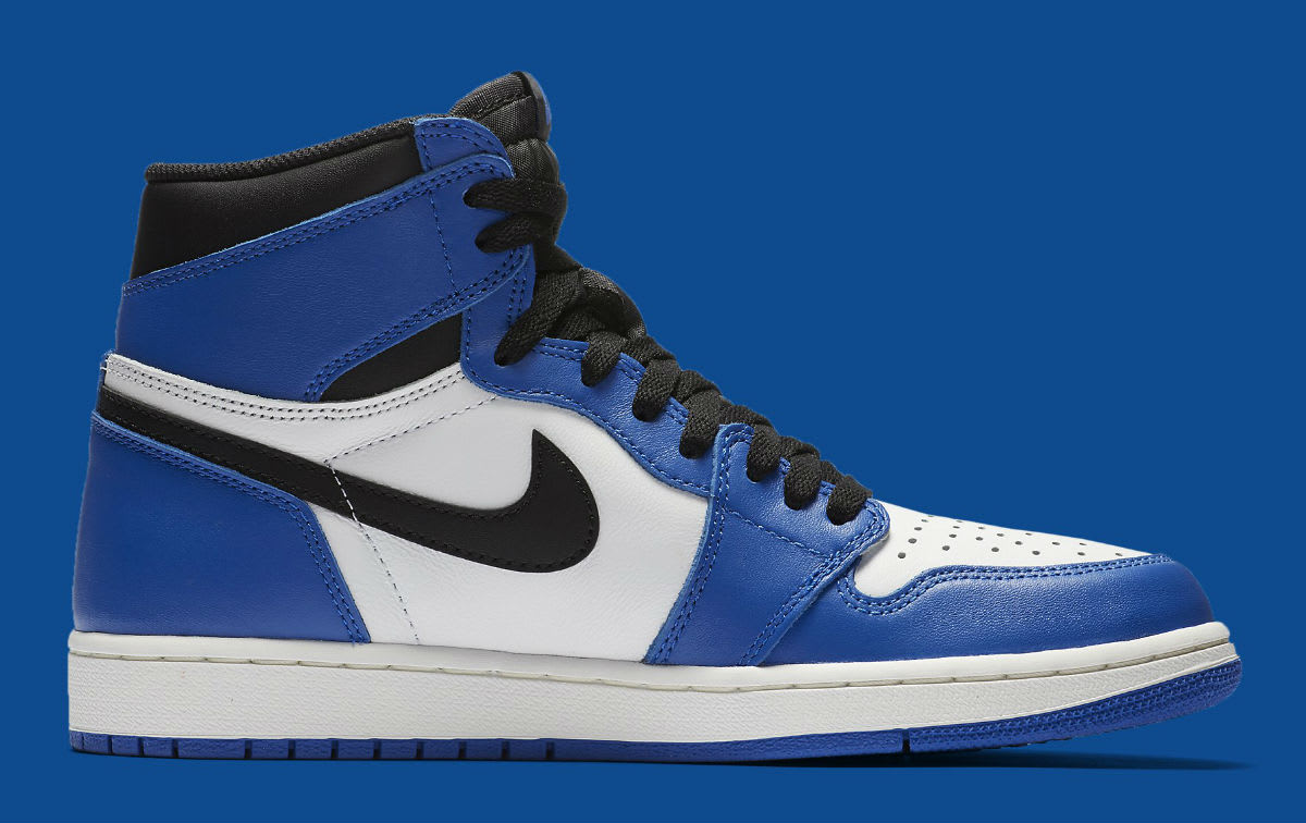 Air Jordan 1 High Game Royal Release Date 555088-403 Medial