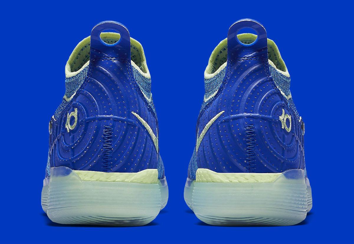 Nike Zoom KD 11 EP Blue Release Date AO2605-900 Heel