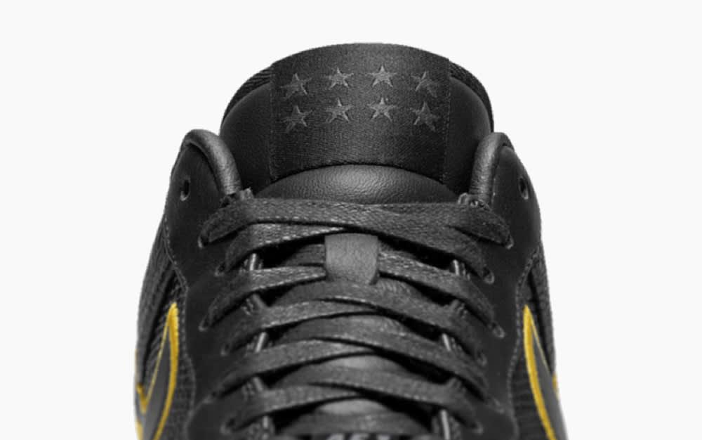 Nike Kobe Air Force 1 Black Mamba Tongue