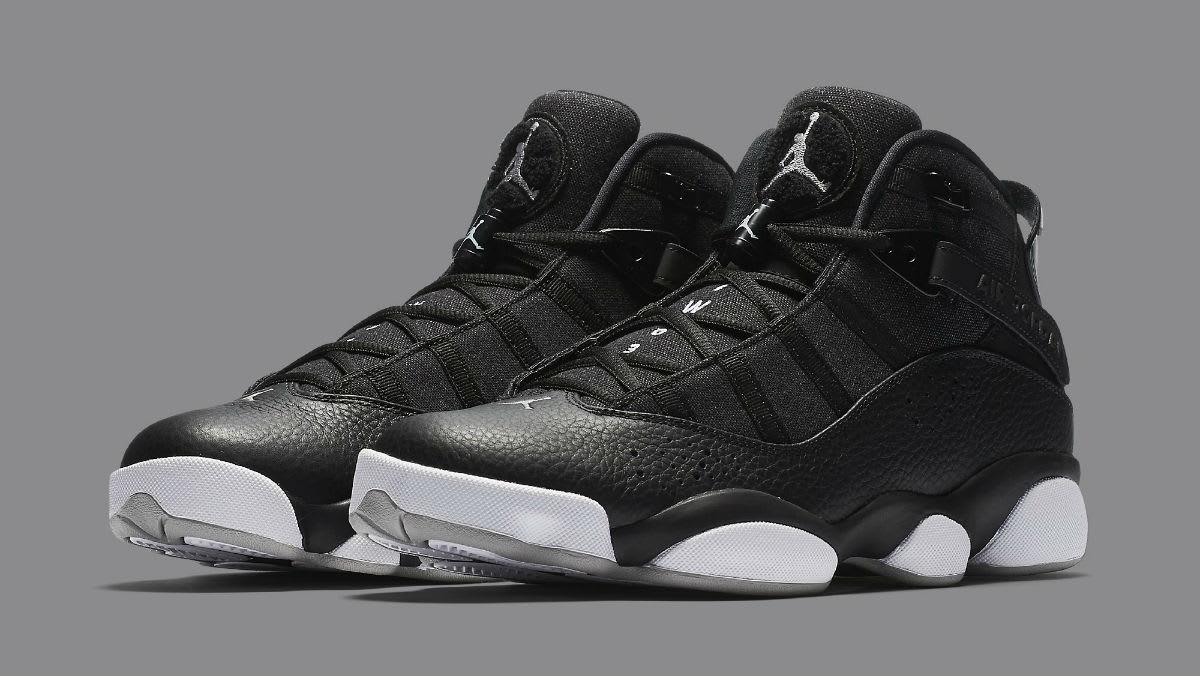 Jordan 6 Rings 2017 Black Silver Release Date Main 322992-021