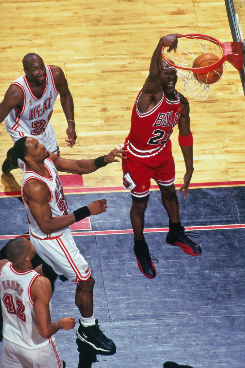 Michael Jordan Miami Heat Game 3 1997 Eastern Conference Finals