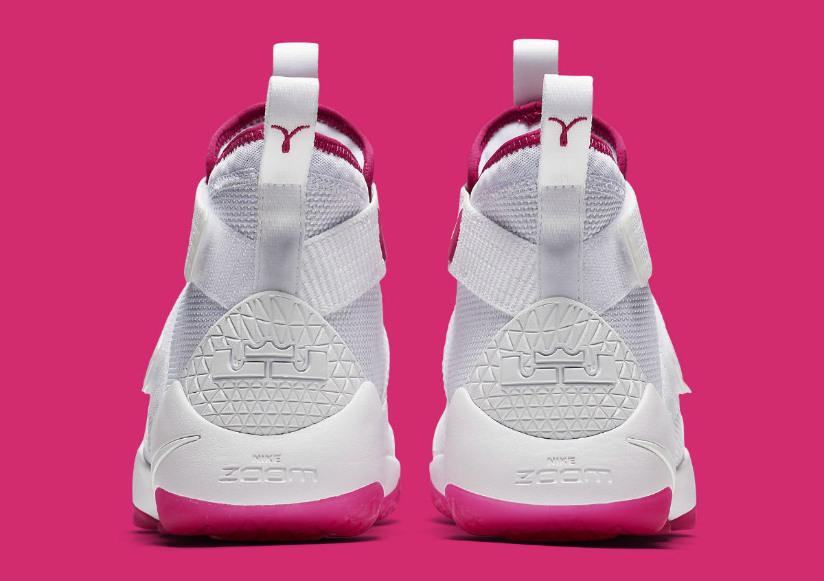 84c87b9e8c41 ... ireland nike lebron soldier 11 kay yow breast cancer awareness release  date heel 897645 102 f9f33