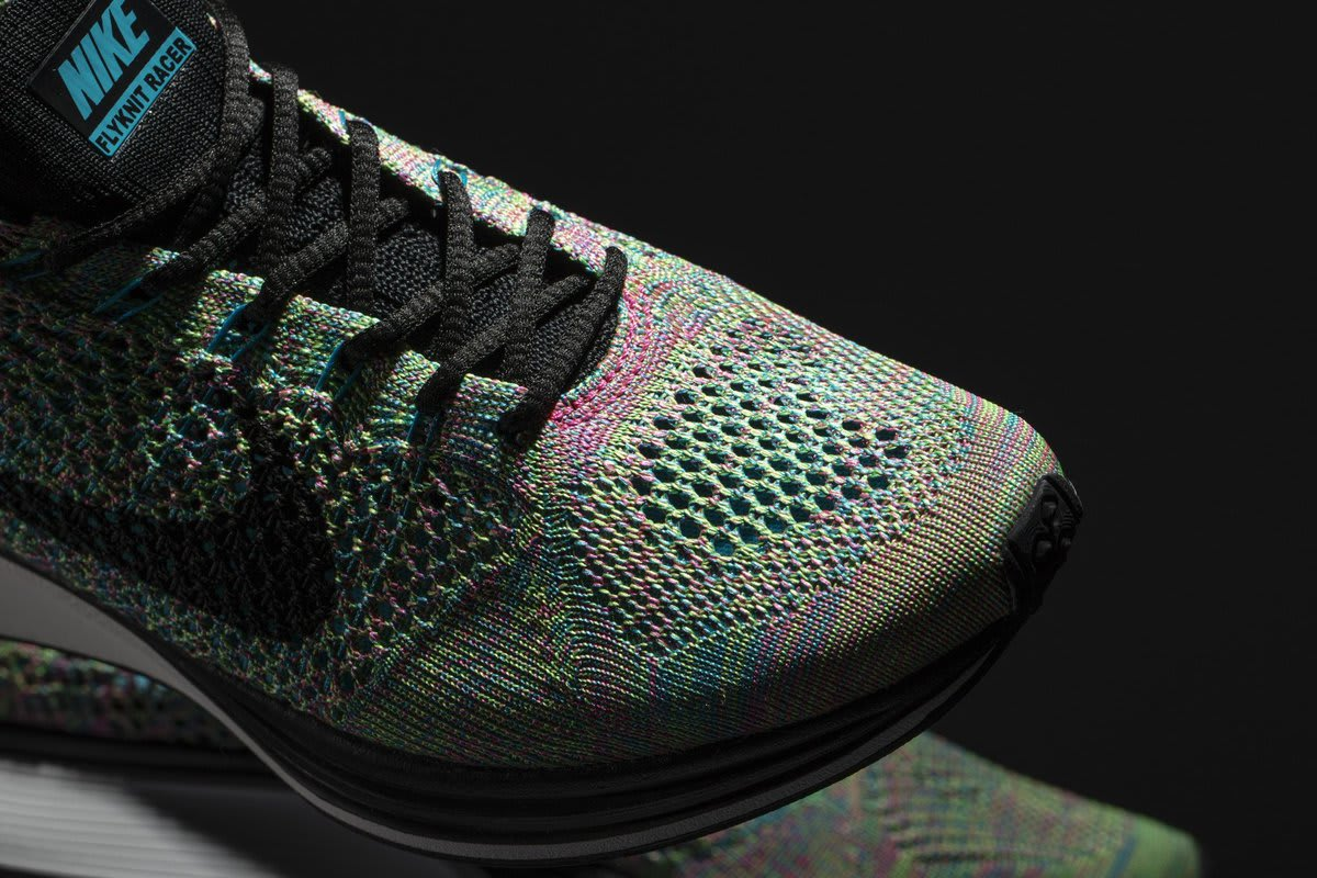 Multicolor Nike Flyknit 2017 Tongue