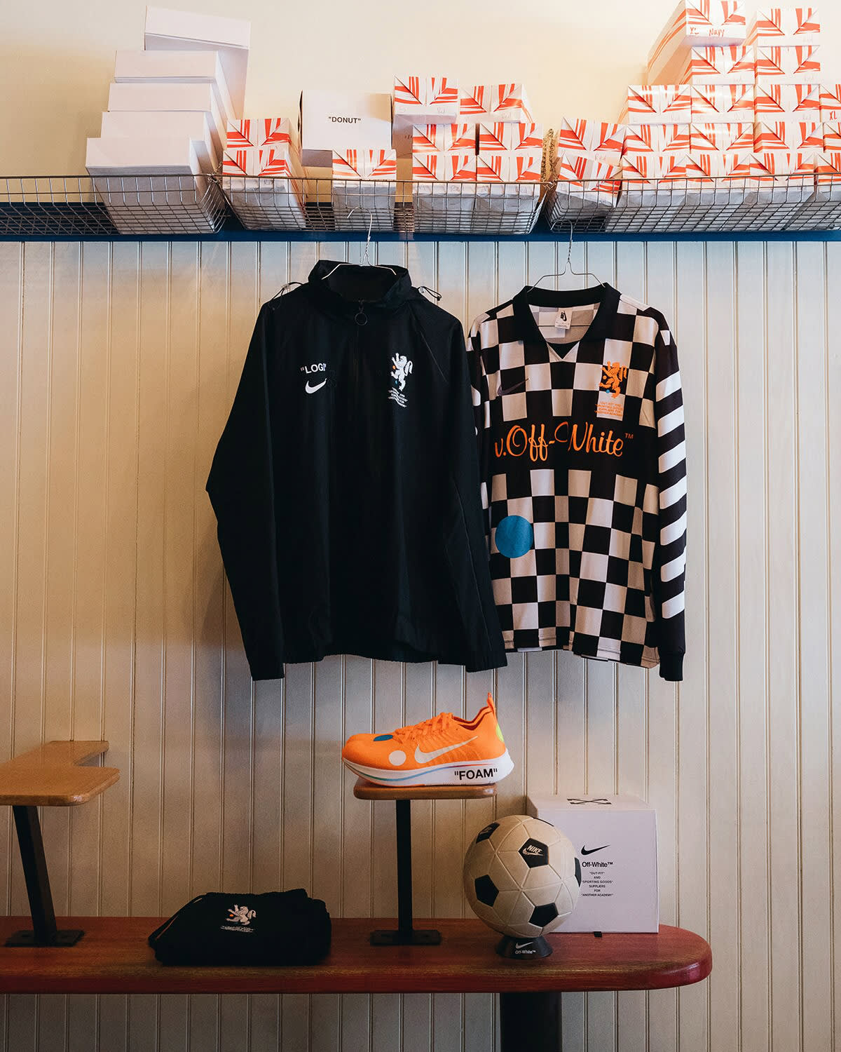 Ubiq x Federal Donuts Off-White x Nike Giveaway 2