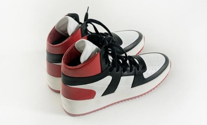 Fear of God 1987 Basketball Sneaker 'All-Star' Black Toe