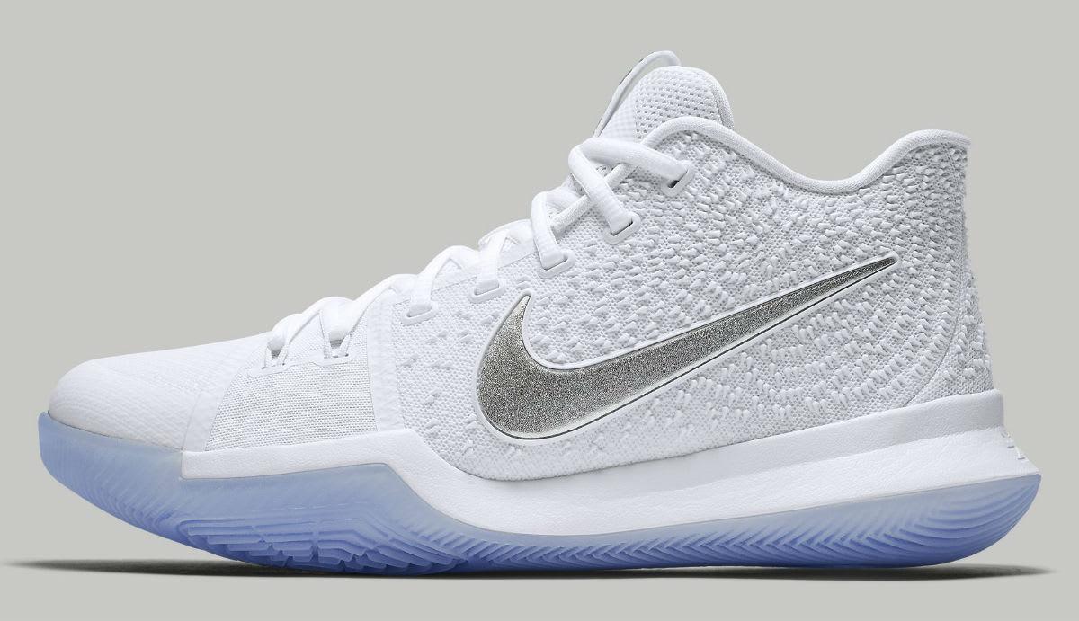 Nike Kyrie 3 Chrome Release Date 852395-103