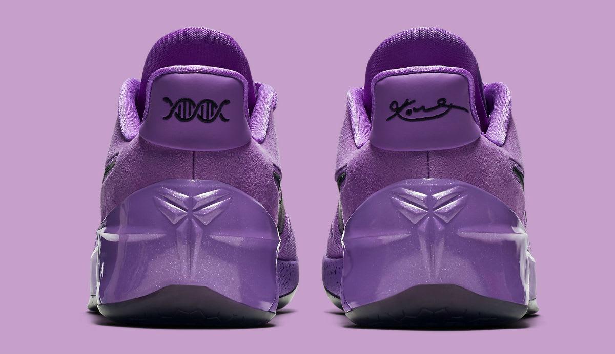 bd147e750530 ... Nike Kobe A.D. Purple Stardust Lakers Release Date Heel 852427-500 ...