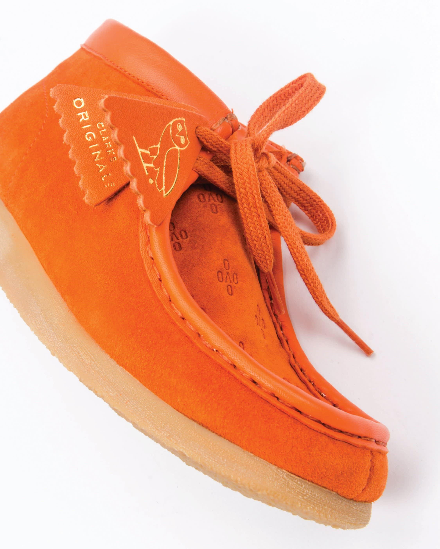 OVO x Clarks Wallabee Orange