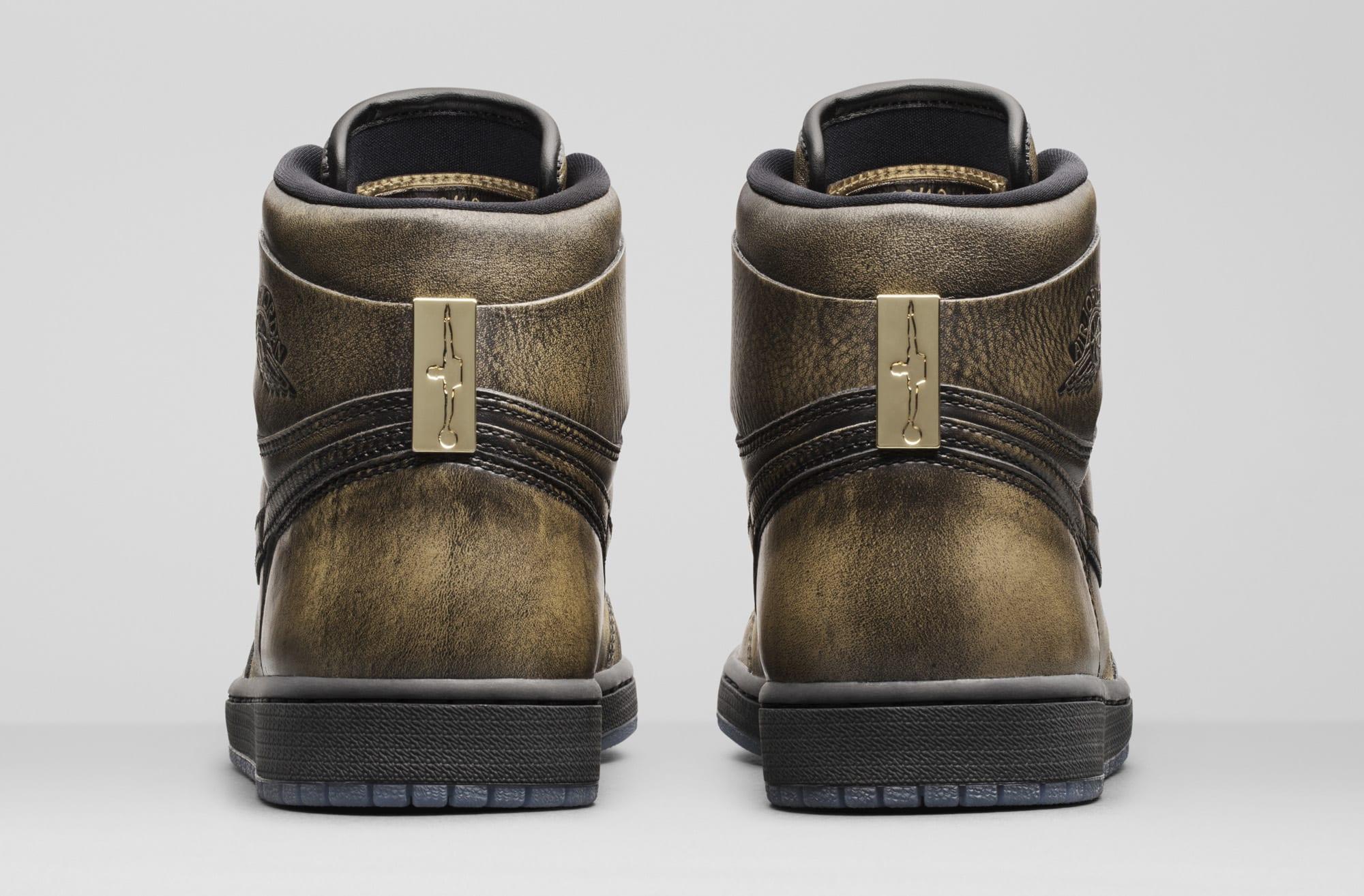 Wings Jordan 1 288703-500 Heel