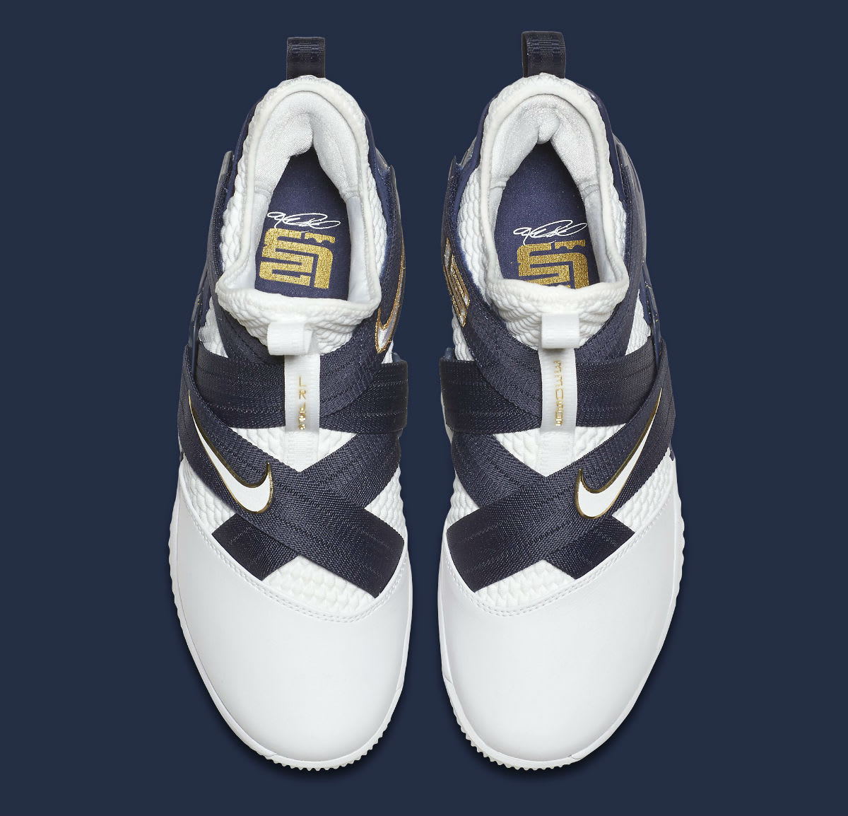Nike LeBron Soldier 12 XII Witness Navy Release Date AO4055-100 Top